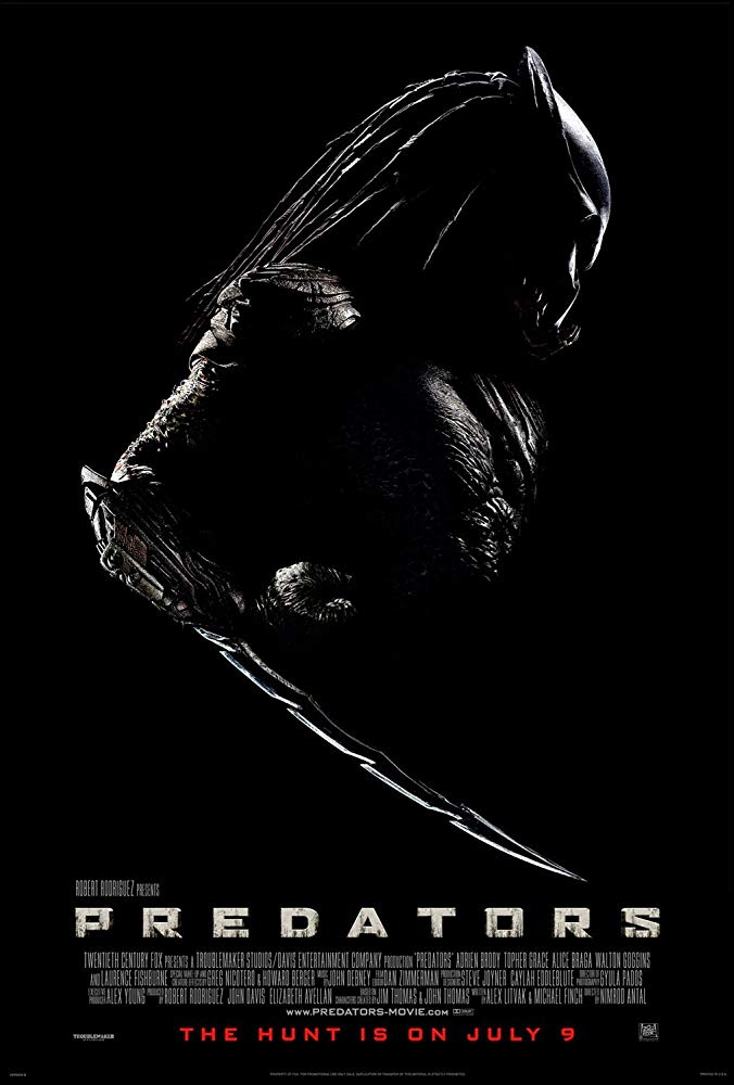 Cartel de 'Predators'