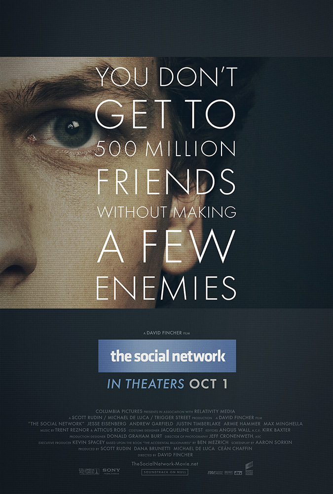 La red social, cartel 1