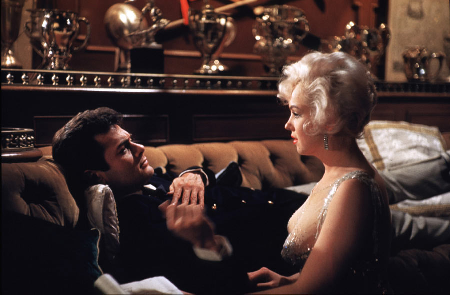 Marilyn Monroe y Tony Curtis en 'Some Like It Hot' (1959)