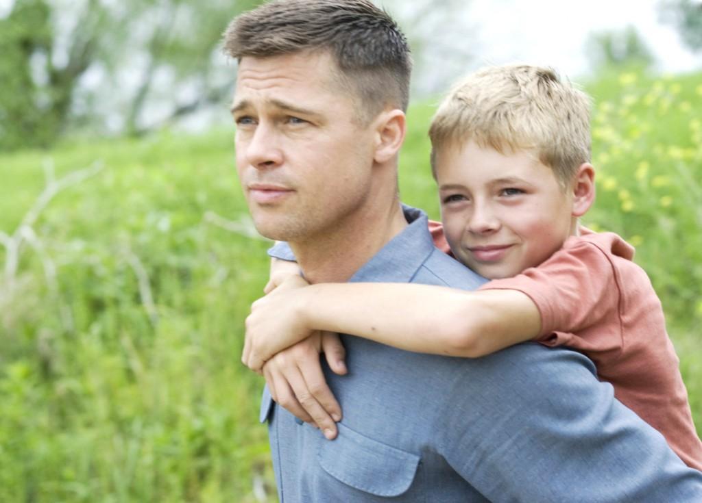 Brad Pitt en The tree of life