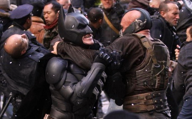 El caballero oscuro: La leyenda renace de Warner Bros