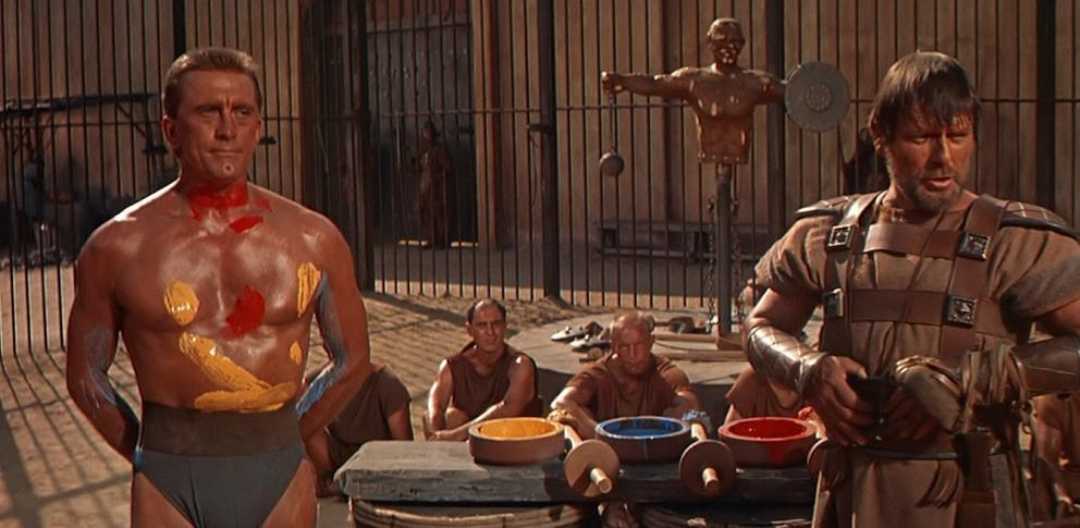 Kirk Douglas es Espartaco