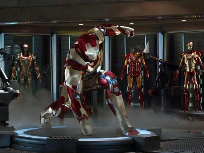 Captura de 'Iron Man 3'