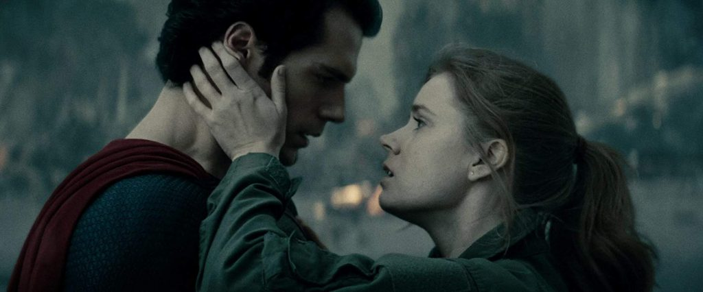 Amy Adams y Henry Cavill