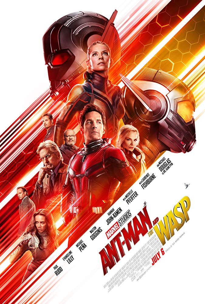 Cartel de Ant-Man y la Avispa (2018)