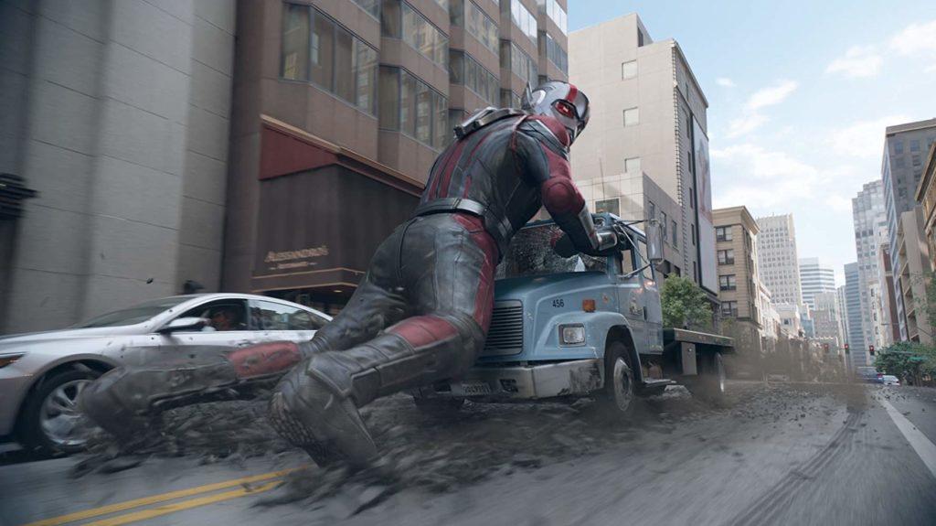 Paul Rudd en Ant-Man y la Avispa (2018)