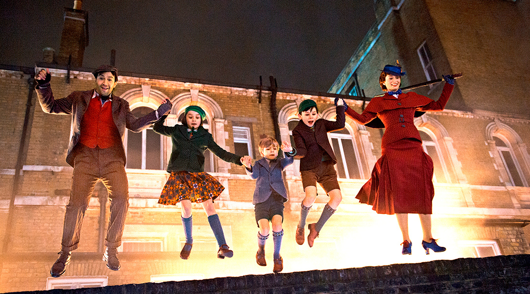 Captura de 'El regreso de Mary Poppins'