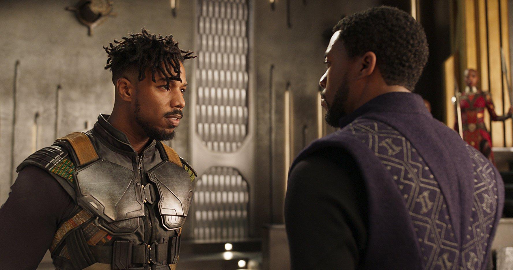 Otra captura más de 'Black Panther'