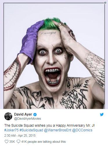 Jared Leto es el Joker
