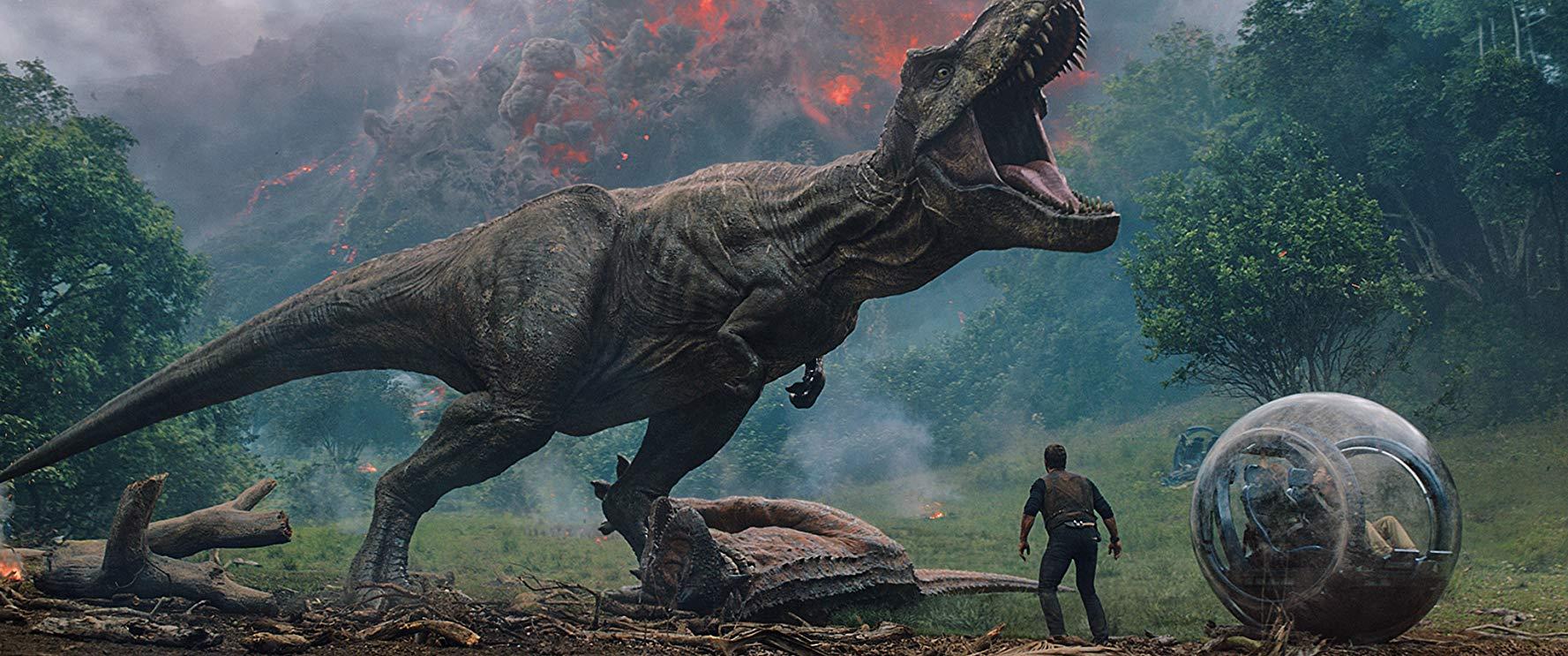 Captura de 'Jurassic World: El reino caído'