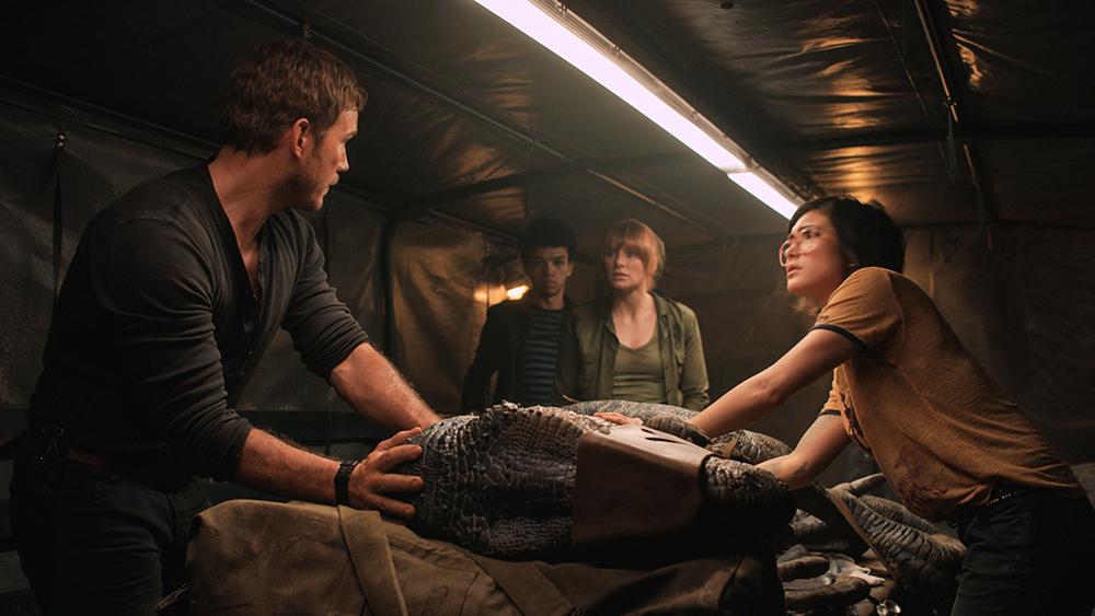 Otra captura de 'Jurassic World: El reino caído'