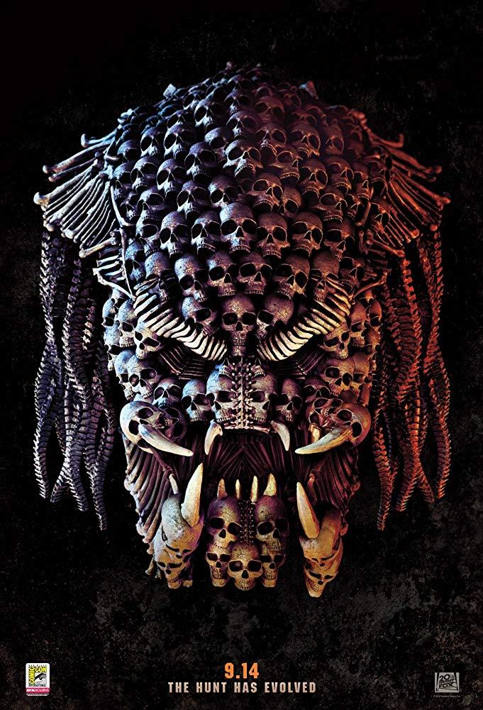 Cartel de Predator (2018)