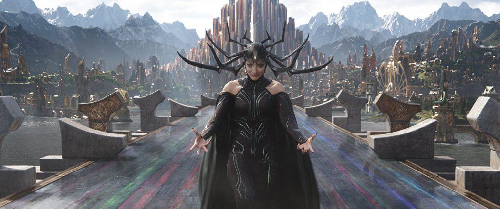 Cate Blanchett es Hela en Thor: Ragnarok (2017)
