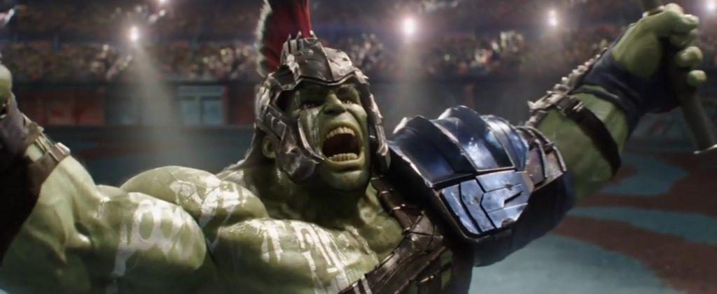 Hulk en Thor Ragnarok