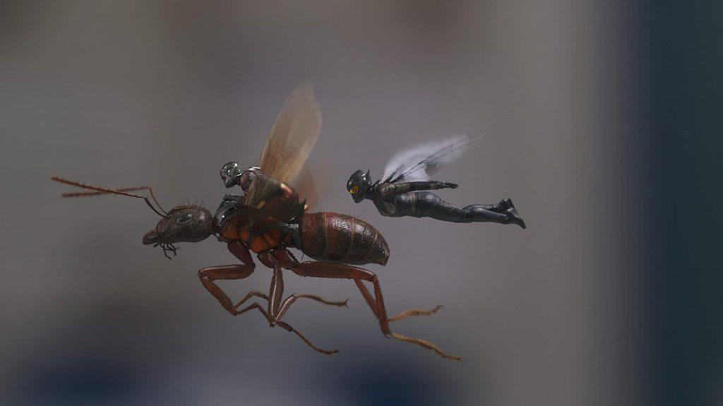 Captura de 'Ant-man y la avispa'