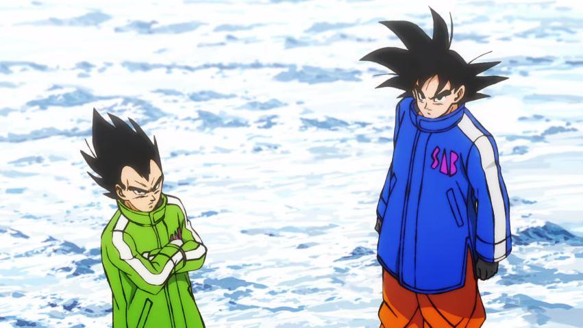Goku y Vegeta en 'Dragon Ball: Broly'