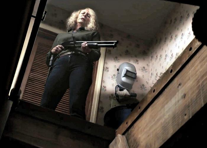 Laurie en acción
