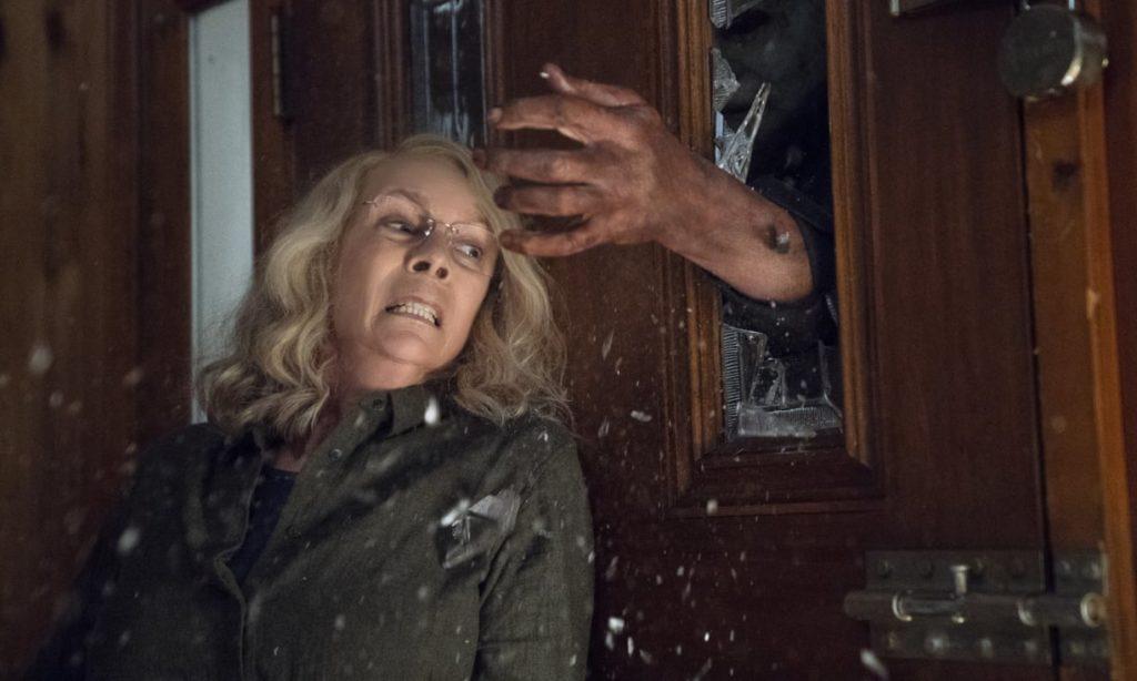 Jamie Lee Curtis en Halloween (2018)