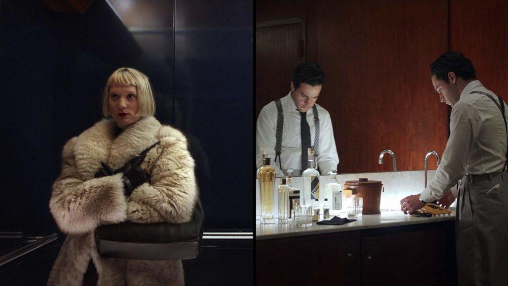 Mia Wasikowska y Christopher Abbott en Piercing (2018)