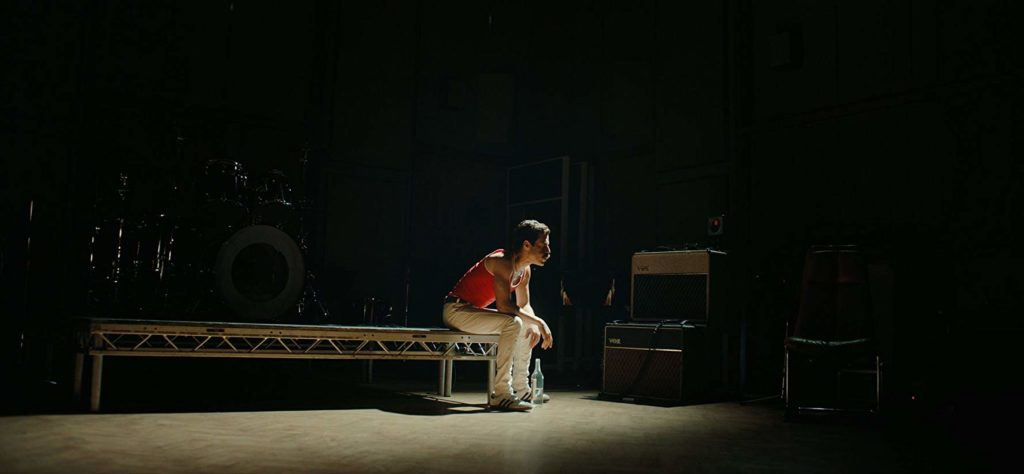 Rami Malek en Bohemian Rhapsody (2018)