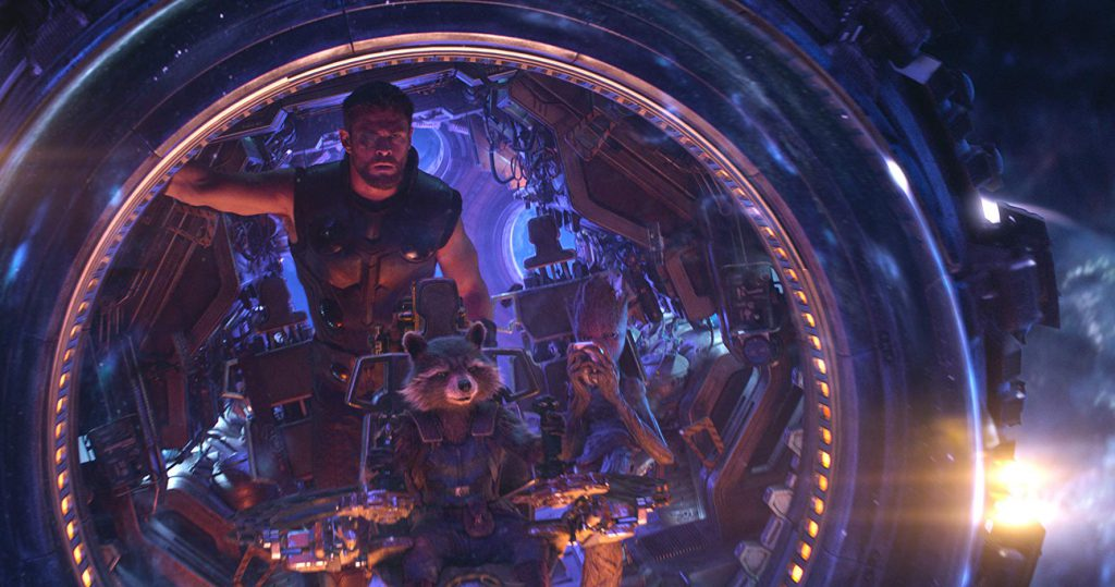 Captura de 'Vengadores: Infinity War'