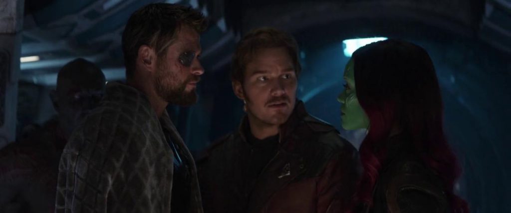 Otra captura de 'Vengadores: Infinity War'
