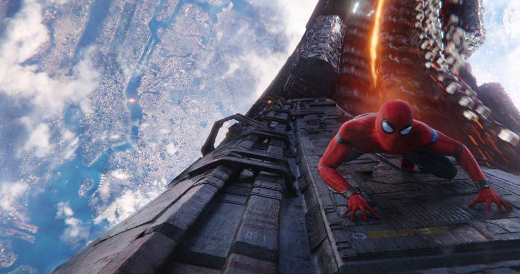 Spider-man en 'Infinity War'