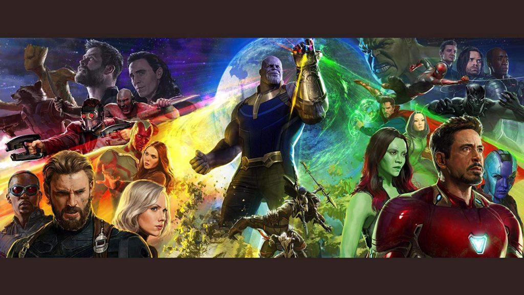 Ilustración de 'Vengadores: Infinity War'