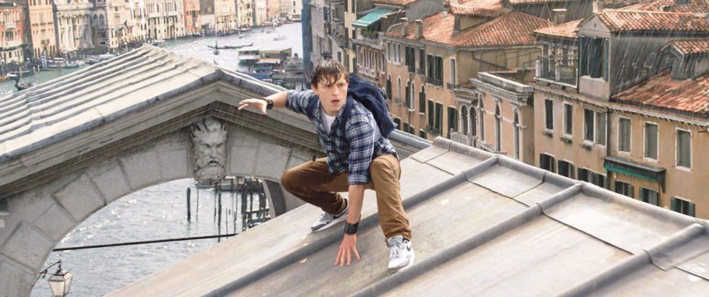 Tom Holand en Spider-man Lejos de casa