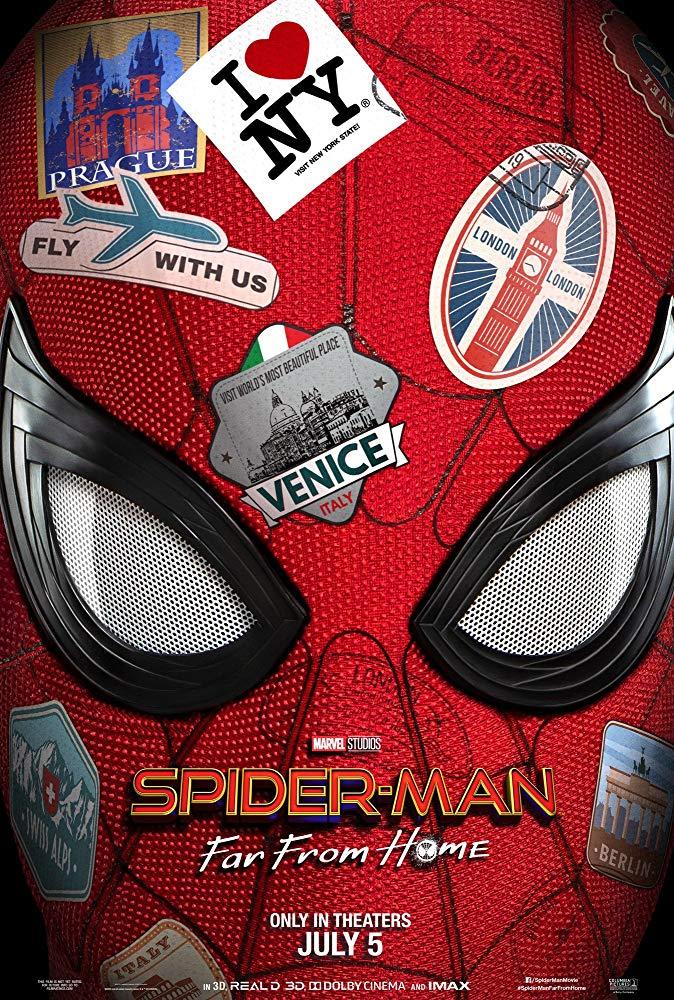 cartel Spider-man: Lejos de casa