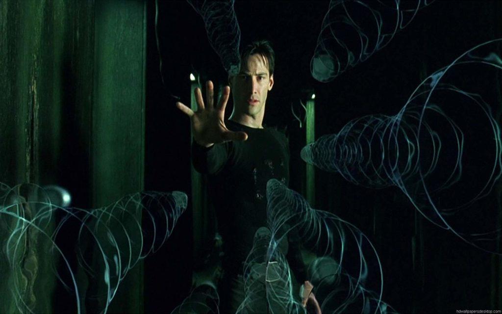 Neo puede parar las balas en Matrix