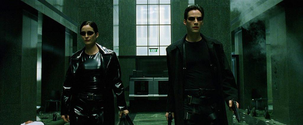 Trinity y Neo