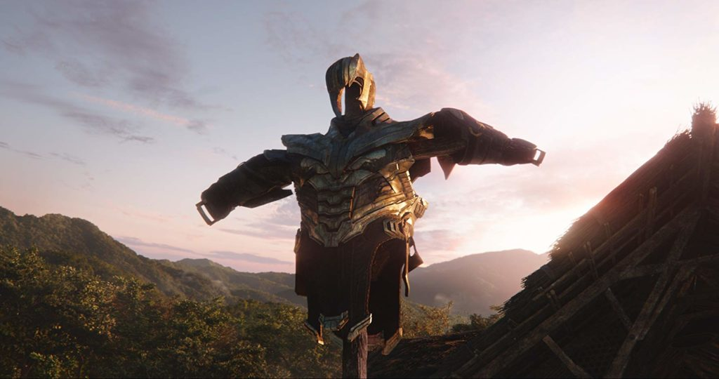 la armadura de Thanos Vengadores: Endgame (2019)