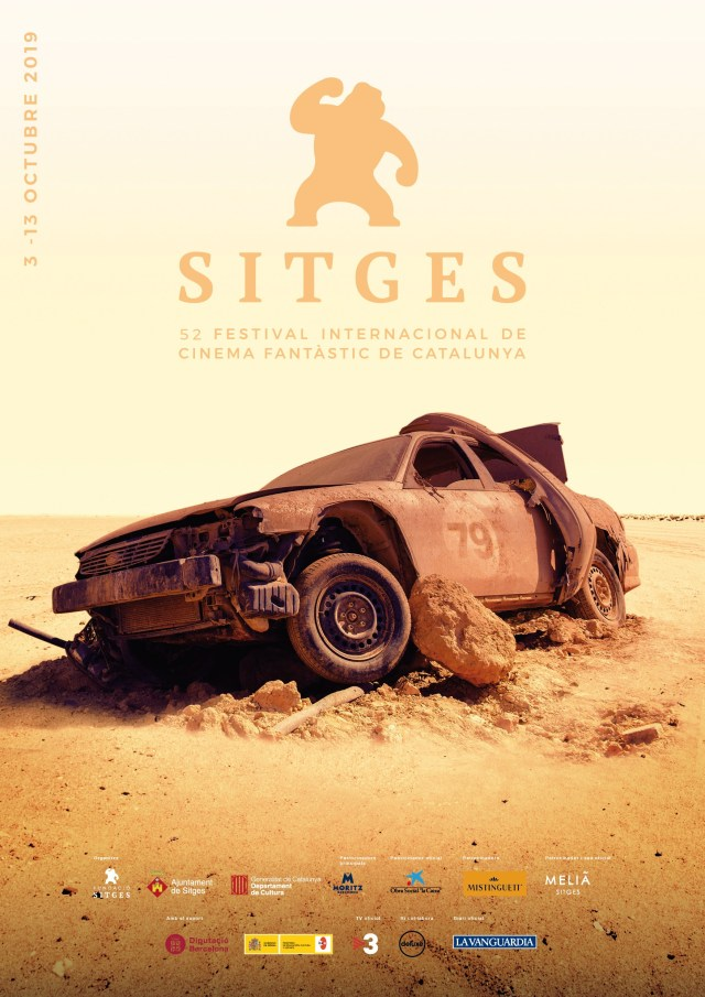 Cartel de Sitges 2019, inspirado en 'Mad Max. Salvajes de autopista' (1979)