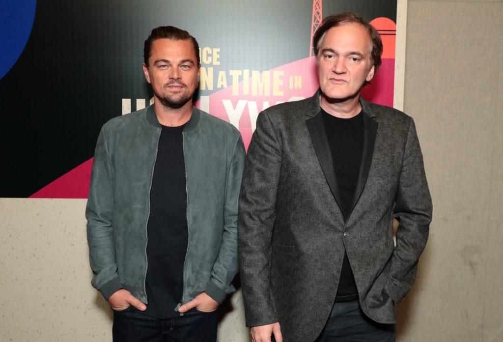 Tarantino y Leo