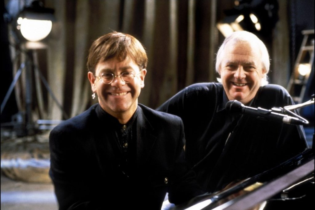 Elton John y Tim Rice en The Lion King (1994)