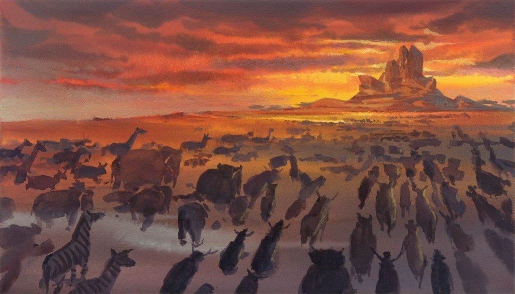 Lion King Concept art