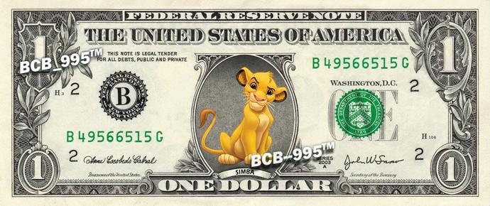LionKing-Dollar