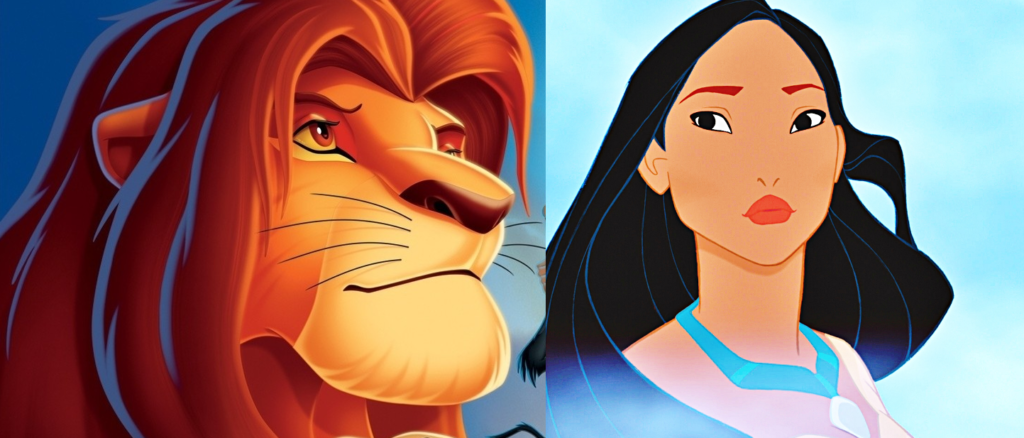Lion King vs Pocahontas, Disney