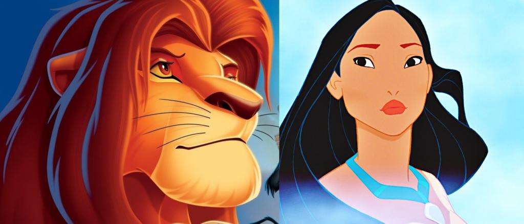 Lion King vs Pocahontas, Disney