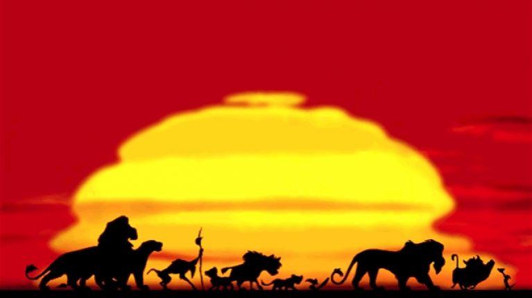 circle of life de  'El rey león'