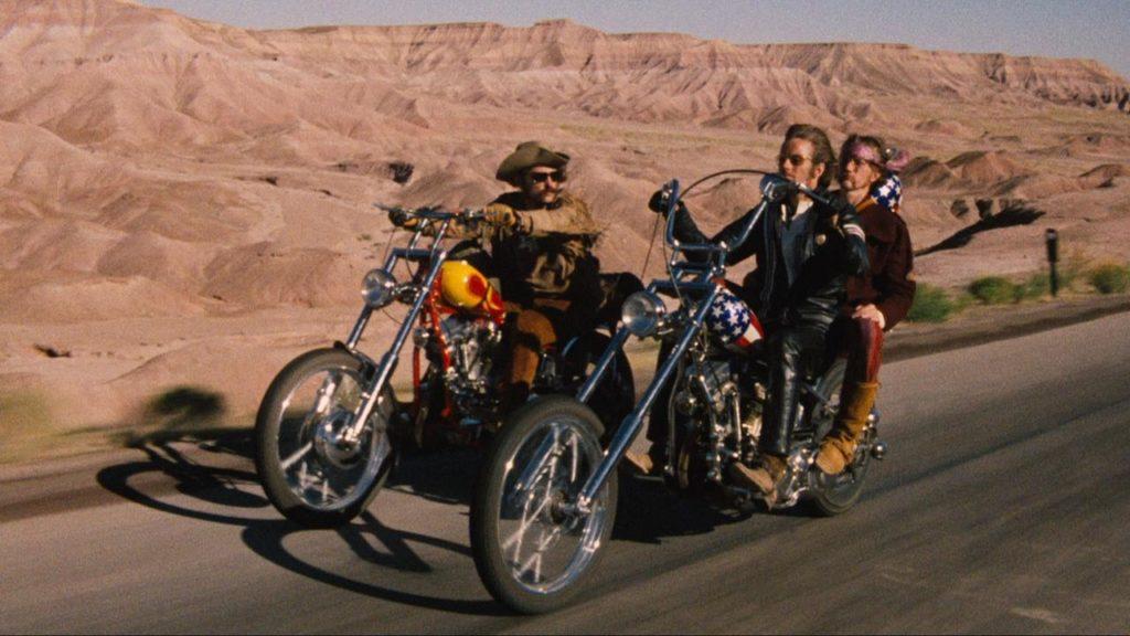 Jack Nicholson, Dennis Hopper, y Peter Fonda
