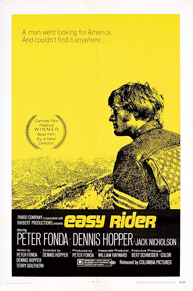 Cartel de Easy Rider (Buscando mi destino)
