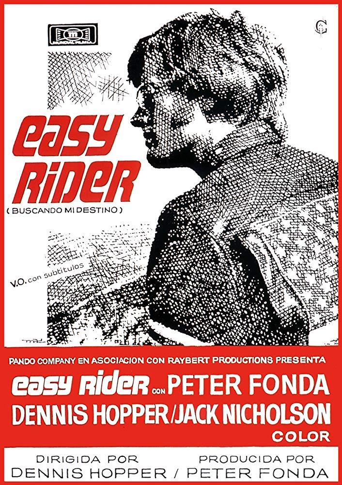Cartel español de Easy Rider (Buscando mi destino)