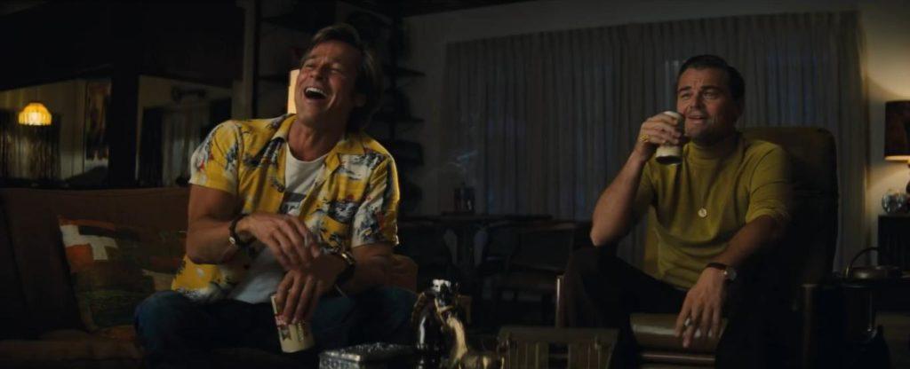 Brad Pitt y Leonardo DiCaprio en Érase una vez en... Hollywood (2019)