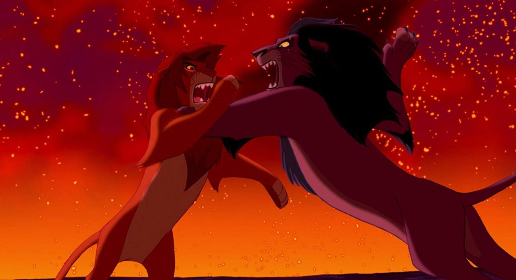 Batalla final de 'El rey león' (1994)