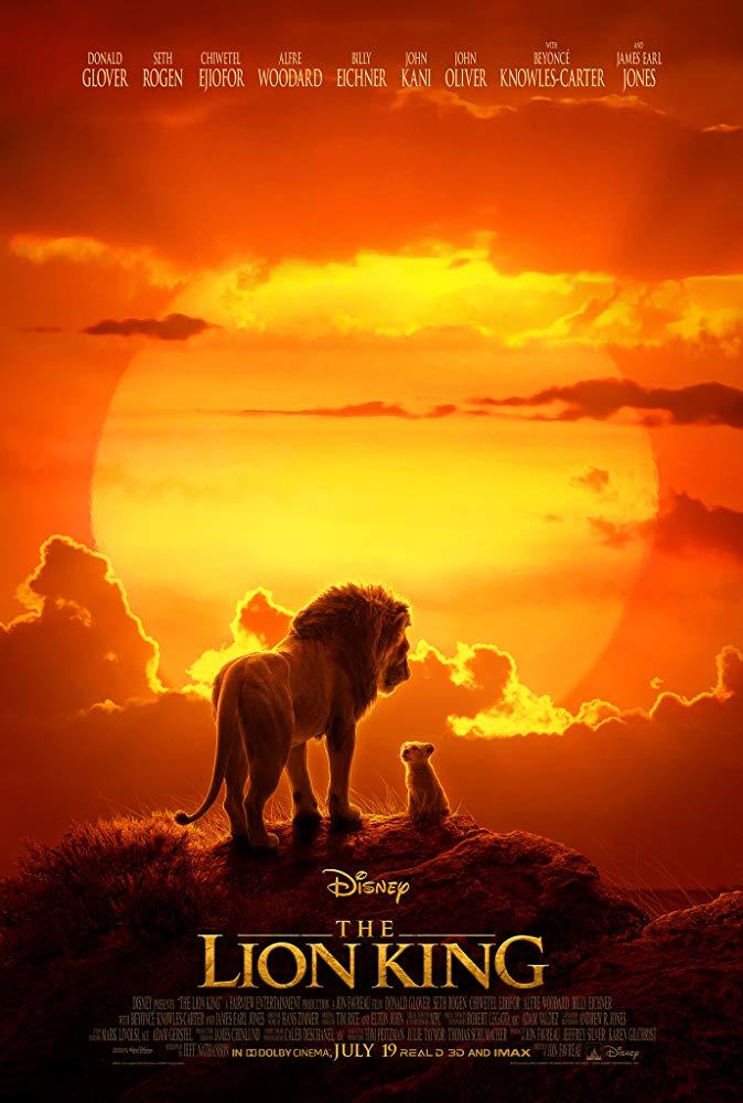 Cartel de 'El rey león' (2019)