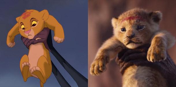 Comparación Simba