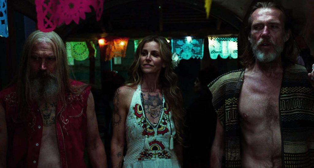 Richard Brake, Sheri Moon Zombie, y Bill Moseley en '3 from Hell' (2019)