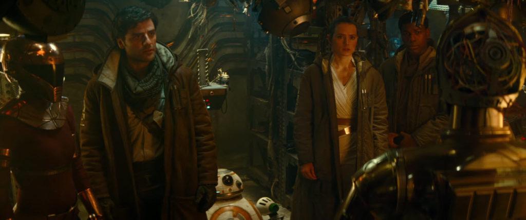 Escena de Star Wars: El ascenso de Skywalker (2019)